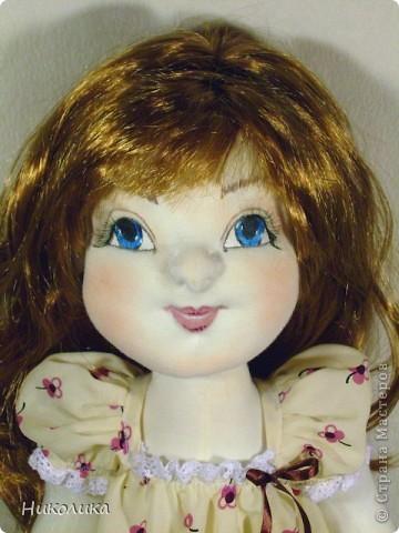 """Текстильная кукла """"Лизочка"""". Рост 52см. Игровая кукла.  фото 1"""