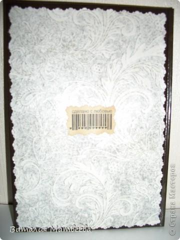 Здравствуйте жители СМ! Я сегодня к вам с огромной радостью! Ко мне прилетела посылочка от Таня46. Моей радости нет предела! Вы посмотрите какие подарочки я получила по летней игре-сюрпризе! Обложечка на паспорт, книга рецептов и замечательная открыточка! Ели-ели успела от дочки спрятать,  а то уже уволокла бы к себе в закрома! Она у меня любитель всего красивого! Я думаю выростет тоже будет творчеством заниматься!  фото 6
