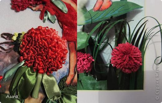 Приветствую всех!  У меня сегодня ЮБИЛЕЙ - 2 года в СМ! Отмечаем-с :)) Этой зимой я наткнулась на Цветочных феечек Cicely Mary Barker и тут же решила сделать их в квиллинге. Первую картинку я мучила долго и отложила, не доделав - так и лежит:( ... И вдруг я увидела у Изуля вербеновую фею http://stranamasterov.ru/node/348773, вышитую ленточками, и понеслось! Найти термопереводную бумагу мне оказалось не по силам, но в Китае легче и дешевле (!) заказать готовый набор – хотя пришлось ограничиться тем, что было у производителя, но варианты мне понравились. Лентами я вышивала впервые и процесс порадовал, равно как и результат: быстро и эффектно! Клеверные феи стали первыми и за 3 дня были готовы - за счет моего энтузиазма и терпения домашних:)) Размер вышивки внутри паспарту 22 на 31 см. фото 5