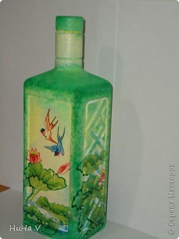 Декупажные бутылочки фото 3