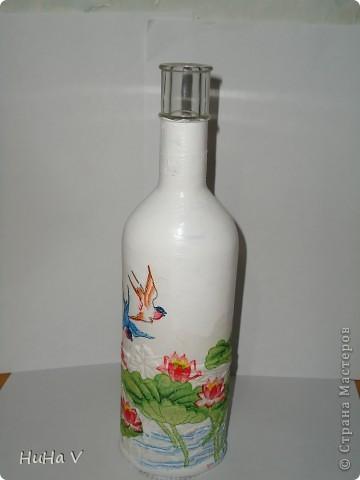 Декупажные бутылочки фото 11