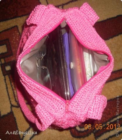 вот и для себя связала сумочку фото 26