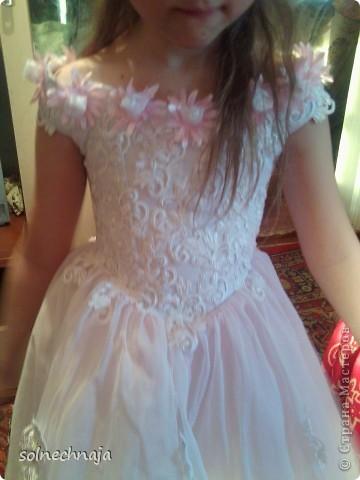 платье для дочки на выпускной в детском саду фото 2