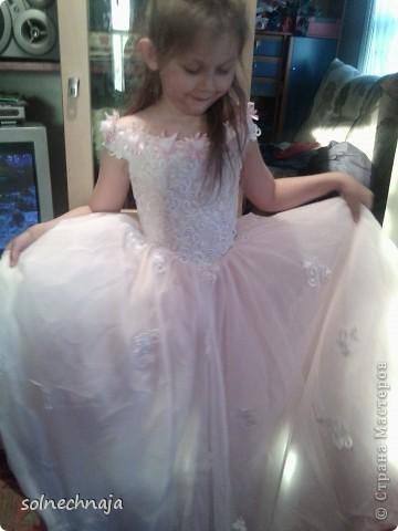 платье для дочки на выпускной в детском саду фото 3