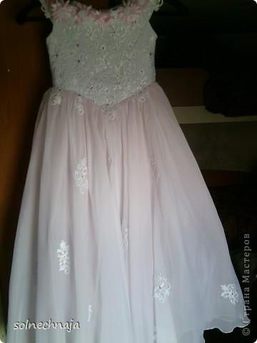 платье для дочки на выпускной в детском саду фото 1