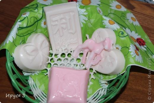 Мои новые мыльца ... В основу добавила масло жожоба и масло жасмина - очень приятный аромат -))) фото 10