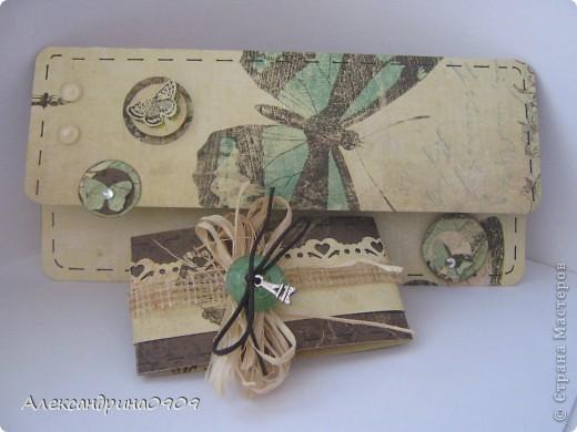 Вот такой подарочный конвертик получился. фото 1