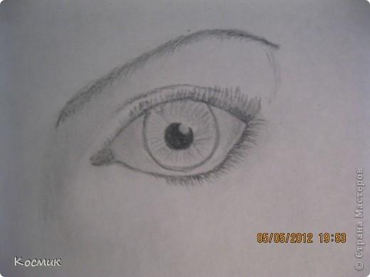 Я научилась рисовать глазик!Как Вам??? Мне помог сайт    http://art-assorty.ru/49-risuem-glaza.html