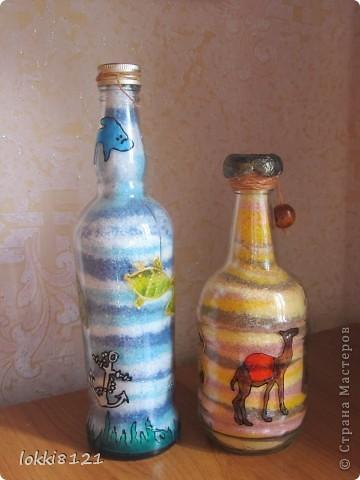 """""""Пустынная"""" бутылочка фото 6"""