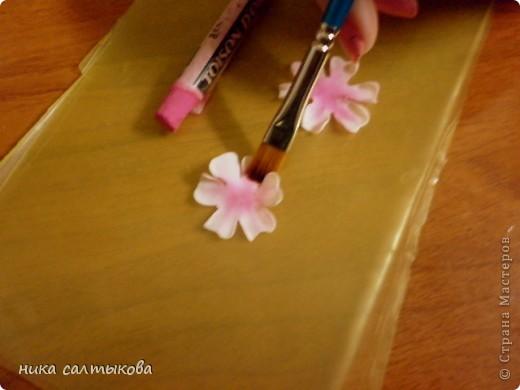 Обещала некоторым мастерицам выложить МК по сакуре, ннадеюсь пригодится многим. фото 7