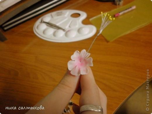 Обещала некоторым мастерицам выложить МК по сакуре, ннадеюсь пригодится многим. фото 9