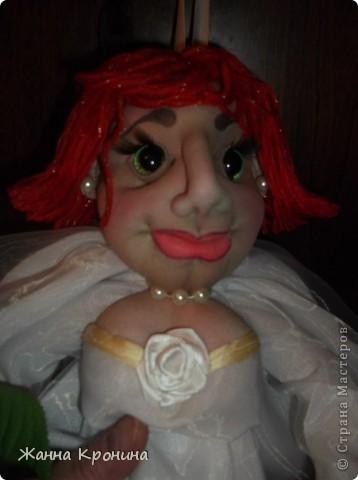 Вот такая у меня невеста получилась- сидит дома в ожидании приезда жениха!))))))))))))))) фото 7