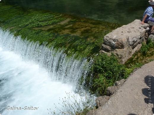 Это водопад. В этом году в Израиле было много дожей, поэтому сейчас все цветет и благоухает. Этот водопад находится на севере Израиля, не далеко от Голанских высот. Место потрясающее фото 5