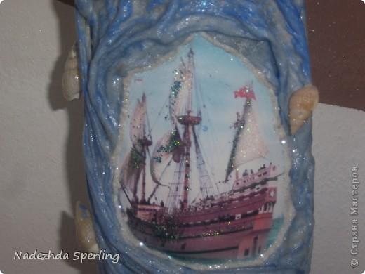 Ткань, акриловые краски, декупажный клей, открытки  ,глина, декоративные камни, блестки  фото 5