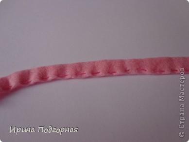 Очень нравятся Сакуры плетенные из бисера. Но не умею плести и не хватает времени попробовать. Решила исправить ситуацию вот таким образом. Сделать Сакуру, но намного быстрее! Выкладываю МК может кому пригодиться!  фото 5