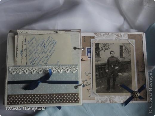 Этот альбом я сделала из старых армейских фотографий моего папы.Служил он в 1962 году.Фотографии обрели новый вид и как-будто ожили.  Папа изображен справа. фото 10
