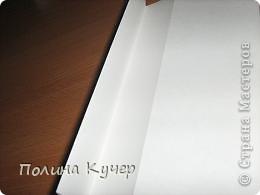 Мастер-класс Аппликация Бисероплетение Оригами Кошелёк оригами Бисер Бумага Клей фото 7