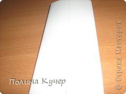 Мастер-класс Аппликация Бисероплетение Оригами Кошелёк оригами Бисер Бумага Клей фото 9