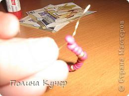 Мастер-класс Аппликация Бисероплетение Оригами Кошелёк оригами Бисер Бумага Клей фото 16