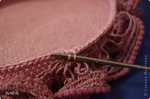 Гардероб Мастер-класс Презент от Голубки Вязание Вязание крючком Сумочка Бисер Материал бросовый Нитки фото 11