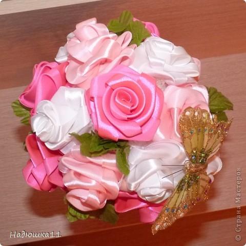 Очень люблю розовый цвет, поэтому с большим удовольствием и практически на одном дыхании сотворила такое маленькое чудо фото 2