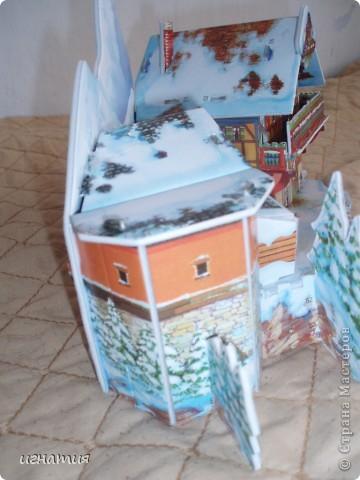 Артуша собрал вот такой домик - пазлы 3 Д фото 4