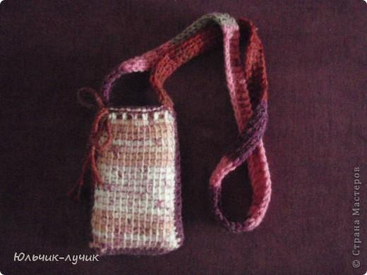 Начала осваивать технику тунисского вязания и решила связать незатейливый чехол! фото 4
