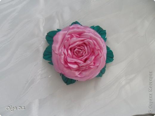 Всем доброго времени суток. Представляю свой цветок. Почему назвала вдохновение? Да потому что вдохновилась от увиденного цветка у О-Л-Ь-Г-И. Спасибо ей огромное за ссылку на МК этого цветка. Я в восторге, результатом довольна! А как вам?  фото 2