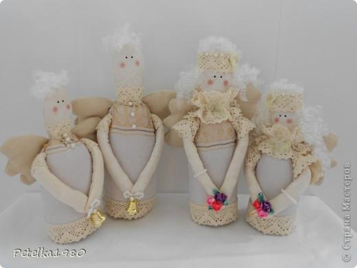 Такая вот семья винтажных ангелов получилась)) фото 13