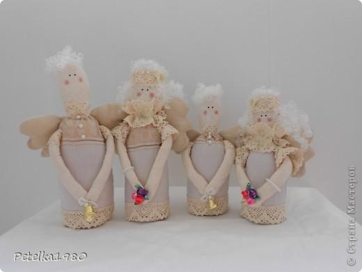 Такая вот семья винтажных ангелов получилась)) фото 1
