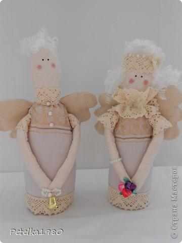 Такая вот семья винтажных ангелов получилась)) фото 2