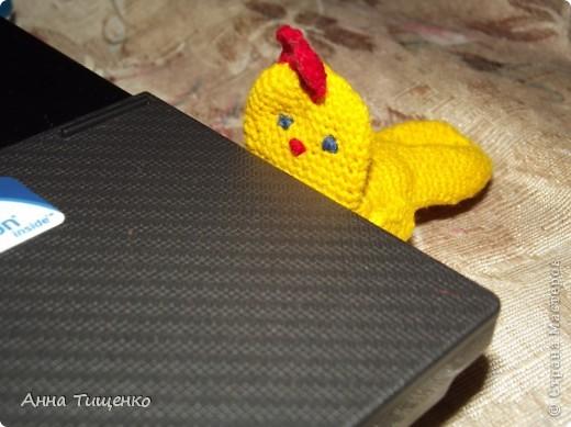 Полюбите вы цыплёнка У него есть работёнка: Флешку надо охранять, Настроенье поднимать!  фото 1
