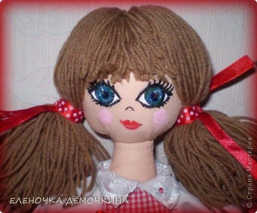Это моя первая куколка и сразу в подарок девушке Анюте=)... говорят они похожи=)  фото 2