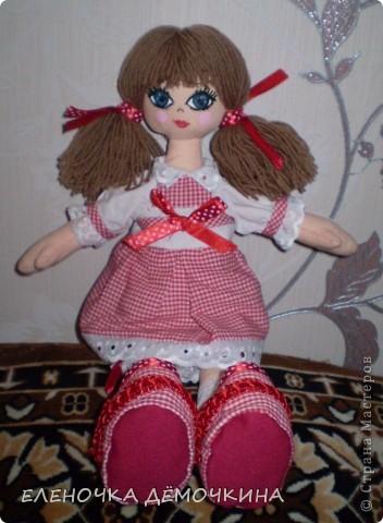 Это моя первая куколка и сразу в подарок девушке Анюте=)... говорят они похожи=)  фото 3