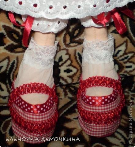 Это моя первая куколка и сразу в подарок девушке Анюте=)... говорят они похожи=)  фото 4