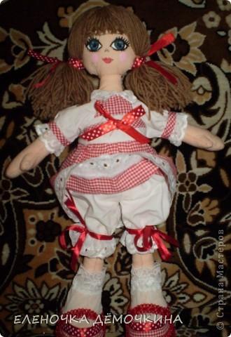 Это моя первая куколка и сразу в подарок девушке Анюте=)... говорят они похожи=)  фото 5