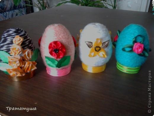 Увидела в Стране Мастеров МК по изготовлению таких яиц и решила тоже сделать к празднику... фото 1