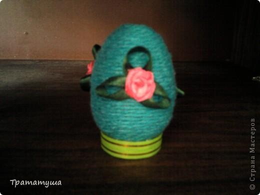 Увидела в Стране Мастеров МК по изготовлению таких яиц и решила тоже сделать к празднику... фото 4
