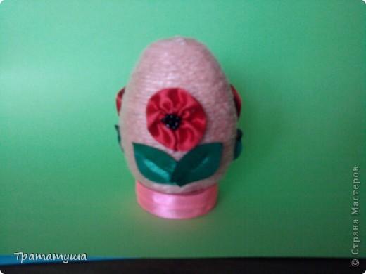 Увидела в Стране Мастеров МК по изготовлению таких яиц и решила тоже сделать к празднику... фото 2