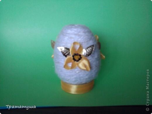 Увидела в Стране Мастеров МК по изготовлению таких яиц и решила тоже сделать к празднику... фото 3