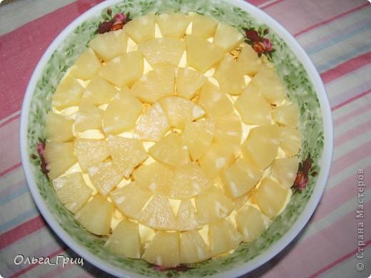 Вкусненький слоеный салатик к праздничному столу. Так назвали, благодаря украшению в виде флажков. фото 10