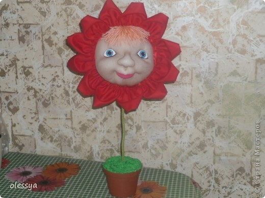 кукла-цветочек фото 1