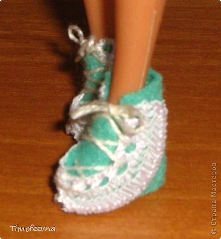 Привет всем, кто зашёл в гости!! На днях, дочкины Барби (и даже один из наших трёх Кенов), прикупили себе обувочку- спортивные кроссовки. Пришла весна,начался сезон утренних и вечерних пробежек, без соответствующей обуви ну просто никак не обойтись. фото 13