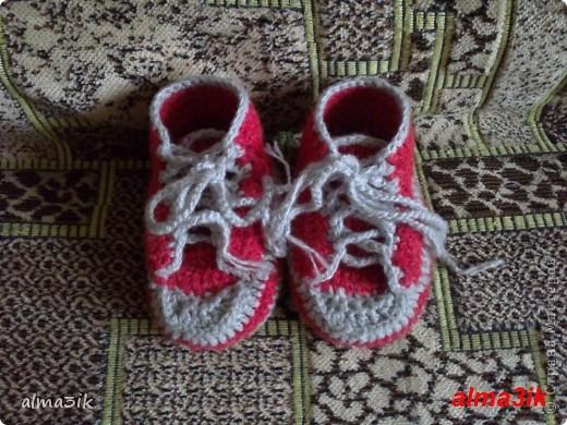 мои первые пинетки ботиночки фото 1