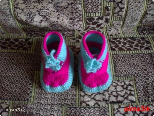 мои первые пинетки ботиночки фото 2