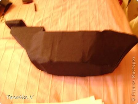 """Здравствуйте!  Представляю вам, пиратский корабль """"Черная жемчужина""""! сделан мной в подарок моему родному брату на  33-летие!!!  Ниже я делюсь с вами МК :)  Начнем! как я делала корабль.... фото 16"""