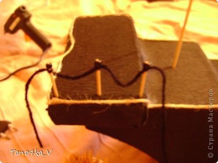 """Здравствуйте!  Представляю вам, пиратский корабль """"Черная жемчужина""""! сделан мной в подарок моему родному брату на  33-летие!!!  Ниже я делюсь с вами МК :)  Начнем! как я делала корабль.... фото 22"""