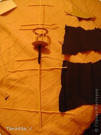 """Здравствуйте!  Представляю вам, пиратский корабль """"Черная жемчужина""""! сделан мной в подарок моему родному брату на  33-летие!!!  Ниже я делюсь с вами МК :)  Начнем! как я делала корабль.... фото 31"""