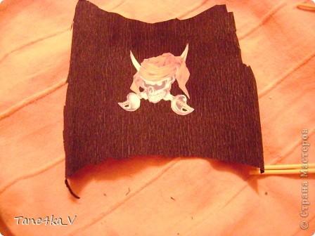 """Здравствуйте!  Представляю вам, пиратский корабль """"Черная жемчужина""""! сделан мной в подарок моему родному брату на  33-летие!!!  Ниже я делюсь с вами МК :)  Начнем! как я делала корабль.... фото 33"""