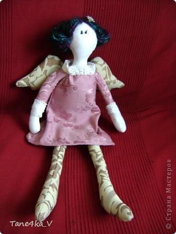 Вот такую Тильдочку принцессу сшила в подарок Полине - племяшке мужа на ДР!))))) фото 1